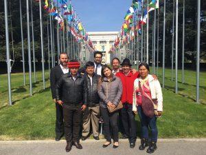 Organizaciones indígenas denuncian criminalización de la protesta social en Examen Periódico Universal de los Derechos Humanos en sede de las Naciones Unidas