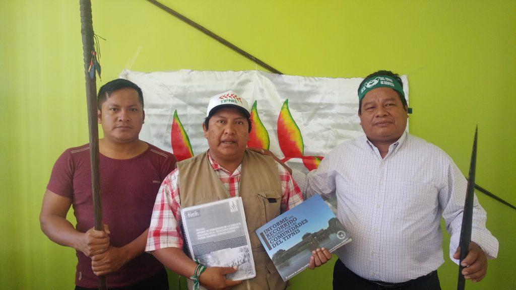 Resolución COICA por la defensa  del territorio indígena  Parque Nacional Isiboro Sécure – TIPNIS