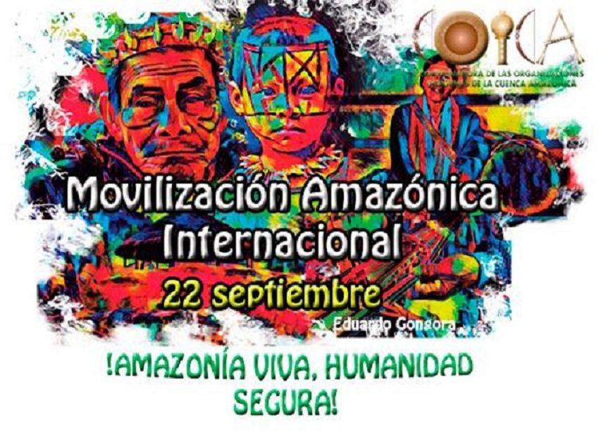 Si quieres Apoyar a la AMAZONÍA puedes hacerlo de este modo