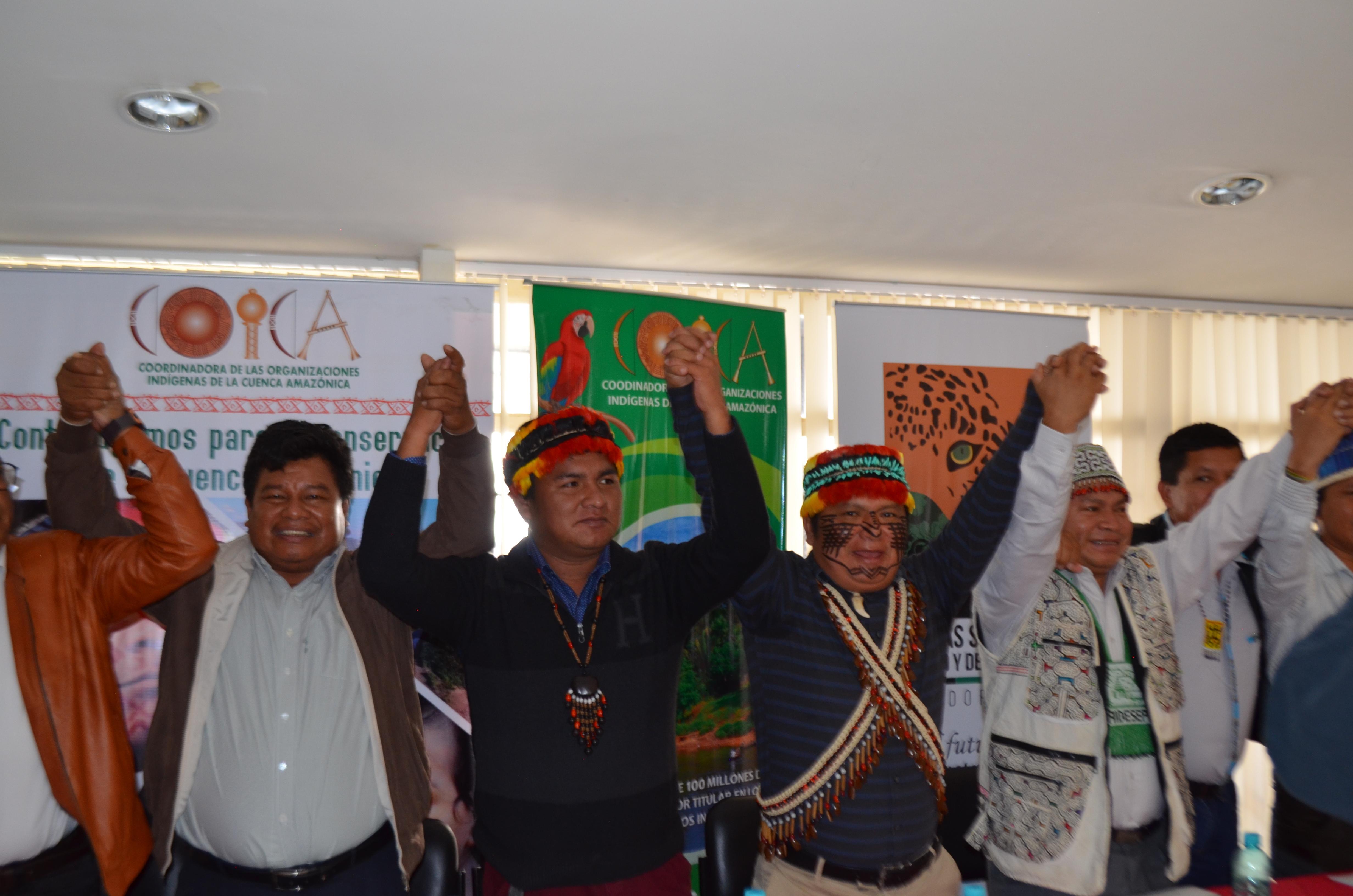 DECLARACIÓN DE QUITO PUEBLOS INDÍGENAS DE LA CUENCA AMAZÓNICA EN DEFENSA DE SUS DERECHOS Y SUS TERRITORIOS
