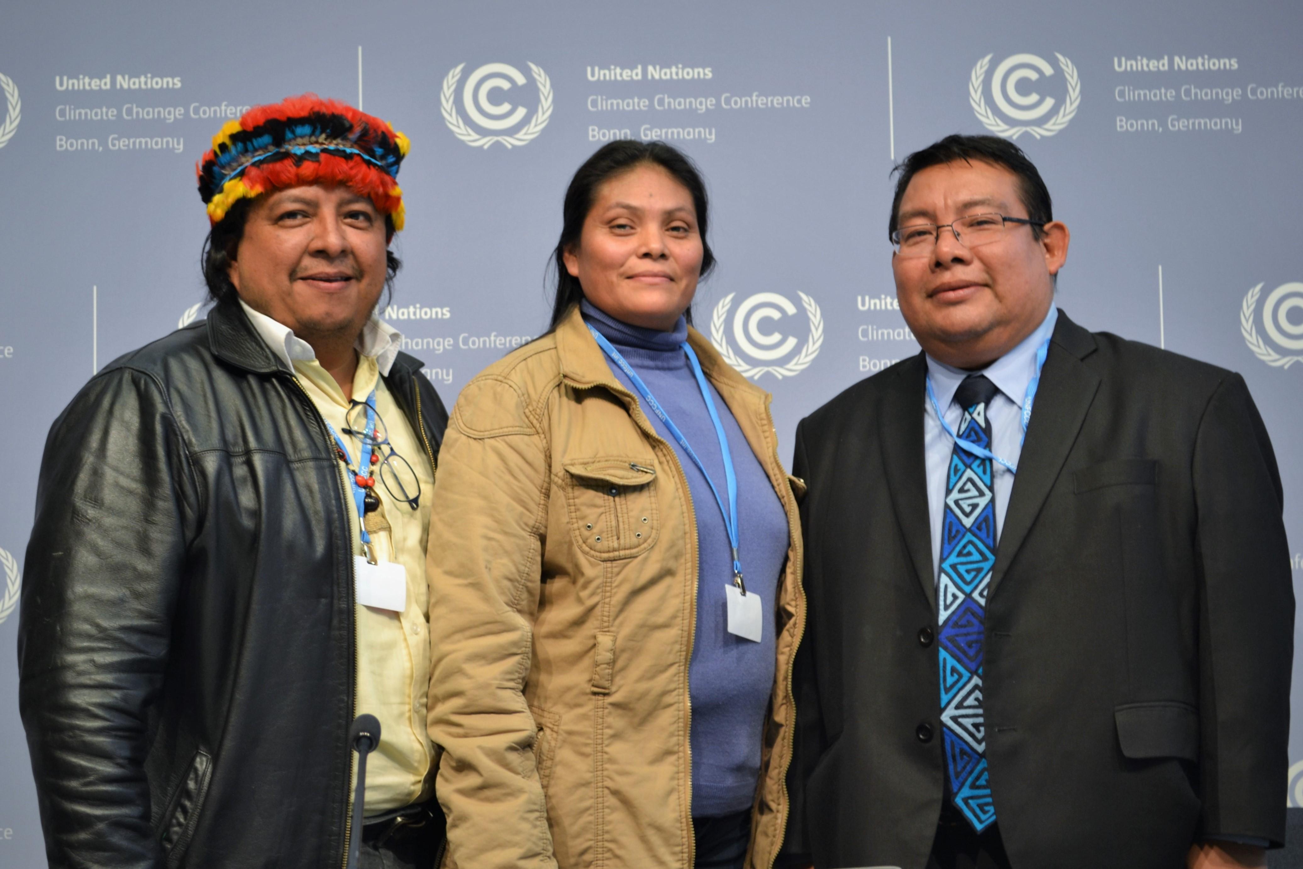 Exponen en Bonn soluciones climáticas desde la Amazonía