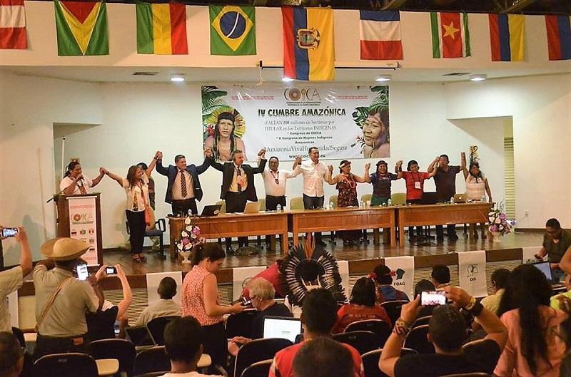 «Capital del medio del mundo» acoge Cumbre: Amazonia Viva, Humanidad Segura