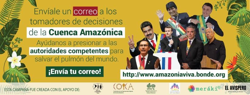 Haz valer tu opinión sobre la Cuenca Amazónica