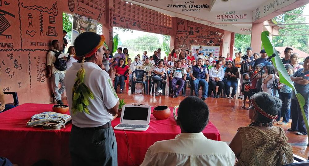 Pronunciamiento de las Organizaciones Indígenas de Venezuela ante la crisis de los incendios en la cuenca Amazónica