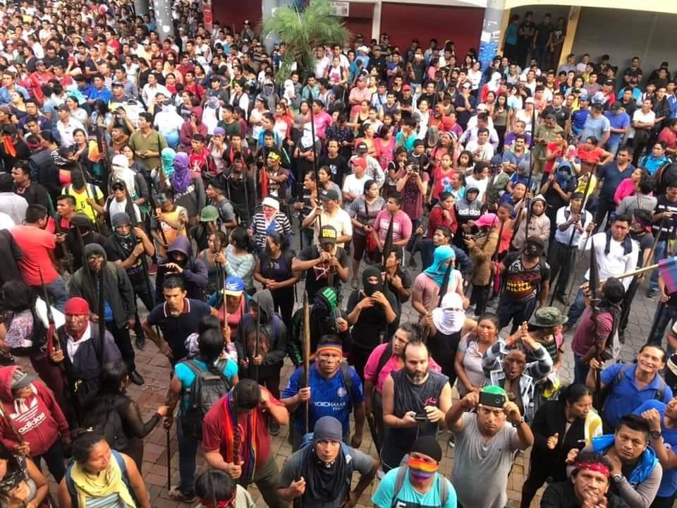 Comunicado de la Alianza Global frente a la Violación de DDHH e Infracción al DIH en Ecuador