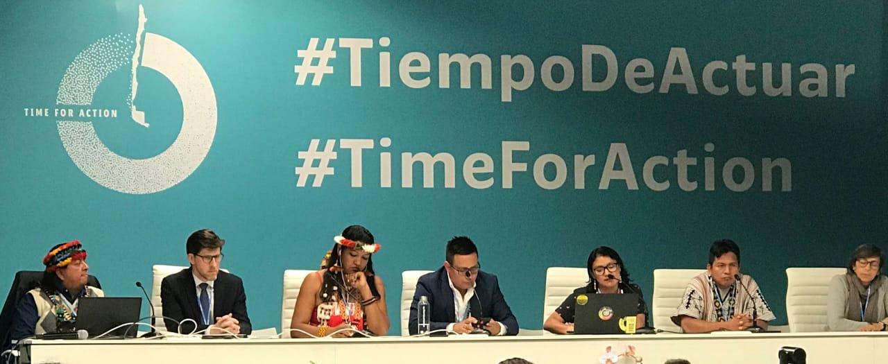 En la COP25 la COICA lanzó la campaña «No hay Consulta sin Consentimiento»