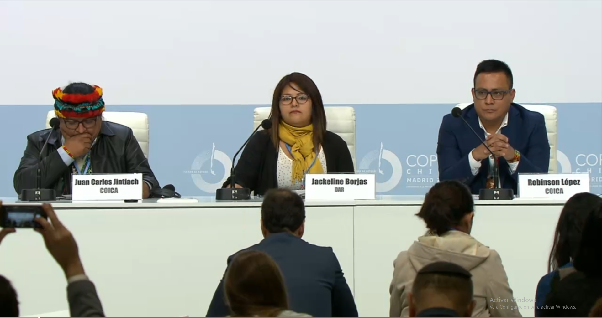 En la COP 25 de Madrid la COICA reivindica el Consentimiento Libre, Previo e informado y exige reconocimiento de Protocolos a los Gobiernos de la Región