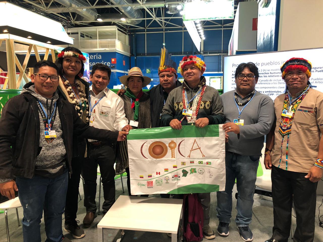 Pueblos indígenas demandan el respeto a sus derechos fundamentales y participación efectiva en los acuerdos climáticos