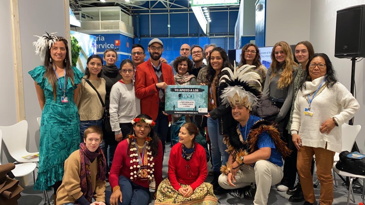 Coica Hace Un llamo a los Gobiernos en la COP25 a Salvaguardar la Vida de los Pueblos Indígenas en Aislamiento