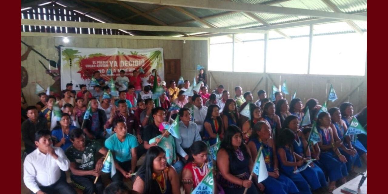PUEBLO SHUAR ARUTAM PRESENTARÁ RECLAMACIÓN A LA OIT POR INCUMPLIMIENTO DEL CONVENIO 169 EN ECUADOR