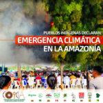 PUEBLOS INDÍGENAS DECLARAN EMERGENCIA CLIMÁTICA EN LA AMAZONÍA