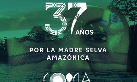 COICA celebró sus 37 años de lucha por la defensa de la Amazonía
