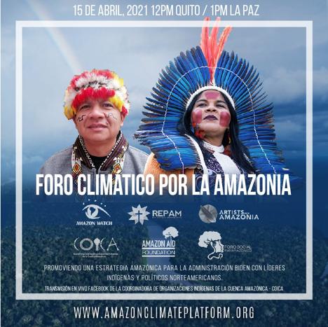 Líderes indígenas toman la palabra sobre el Plan de Acción de Biden para proteger la Amazonía