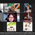 Defensores y defensoras indígenas presentan propuestas ante ONU y CEPAL para una implementación efectiva del Acuerdo de Escazú