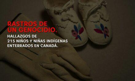 SOLIDARIDAD CON NUESTROS HERMANOS INDÍGENAS DE CANADÁ