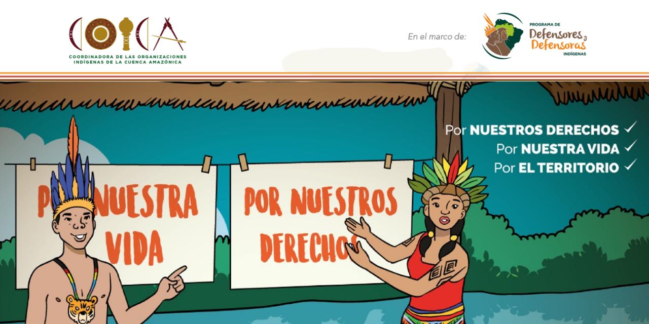 Cartilla del programa de defensa de defensores y defensoras indígenas de coica