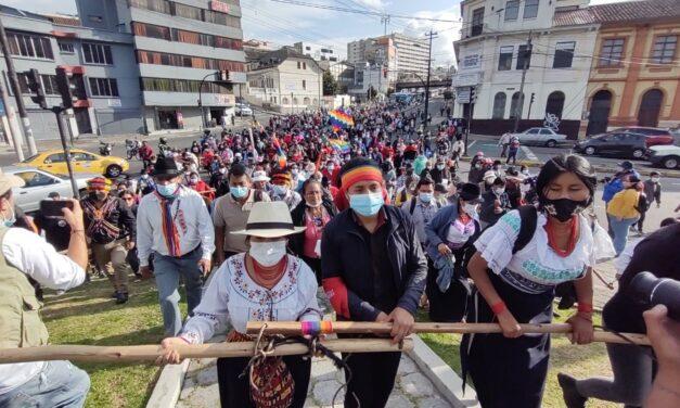 COICA EN APOYO A LA MOVILIZACIÓN DEL MOVIMIENTO INDÍGENA EN ECUADOR