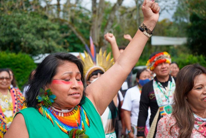 Mujeres Originarias de la Cuenca Amazónica presentaron mandato que marca la hoja de ruta para evitar el punto de no retorno de la Amazonía